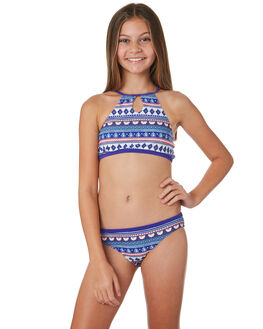 BRIGHT BLUE KIDS GIRLS RIP CURL SWIMWEAR - JSIDE14286