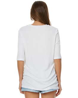 WHITE WOMENS CLOTHING THE FIFTH LABEL TEES - TJ170555TWHT