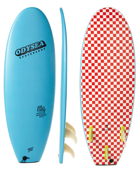 COOL BLUE SURF SOFTBOARDS CATCH SURF FUNBOARD - 16ODY50-T-CBBLU