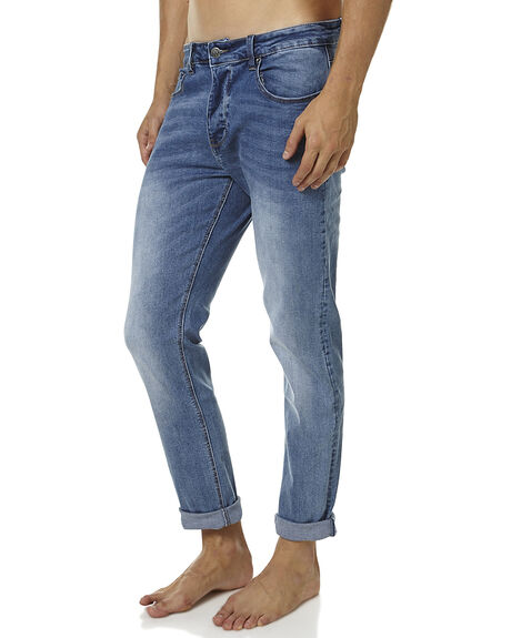 ONLY BLUES MENS CLOTHING ZIGGY JEANS - ZM-1075ONBL