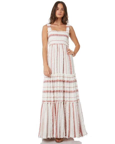 ORANGE WOMENS CLOTHING TIGERLILY DRESSES - T391417ORA