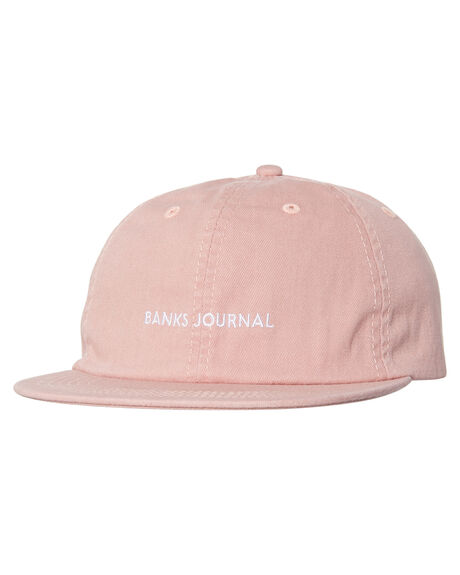 ASH ROSE MENS ACCESSORIES BANKS HEADWEAR - HA0071ASR