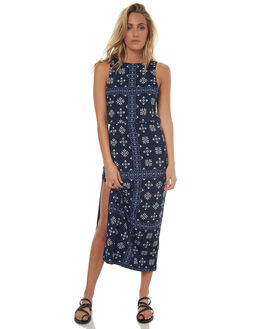 INDIGO WOMENS CLOTHING TIGERLILY DRESSES - T372404IND