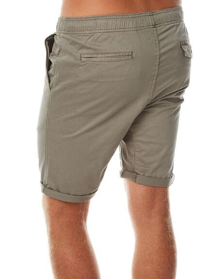 KHAKI MENS CLOTHING SWELL SHORTS - SW-W16-008KHA