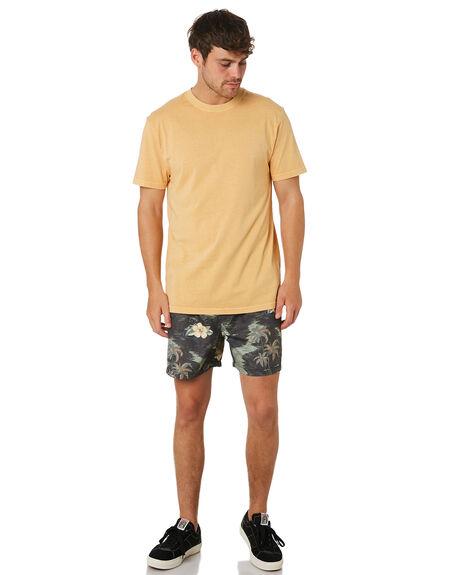 BRIGHT YELLOW MENS CLOTHING RIP CURL TEES - CTESZ29328