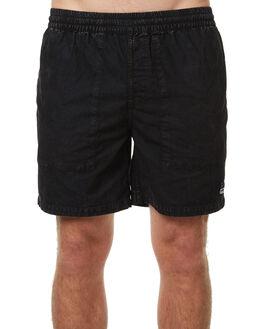 PIRATE BLACK MENS CLOTHING RVCA BOARDSHORTS - R373408PIBLK