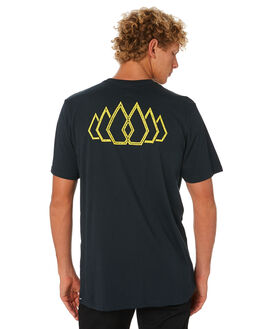 BLACK MENS CLOTHING VOLCOM TEES - A5001961BLK