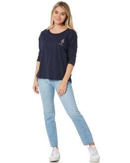 BLUE NIGHTS WOMENS CLOTHING RUSTY TEES - TTL1095BNI