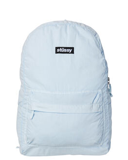 BABY BLUE MENS ACCESSORIES STUSSY BAGS + BACKPACKS - ST773027BABY