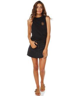ASHTRAY BLACK WOMENS CLOTHING ZIGGY SKIRTS - ZW-1168ASH