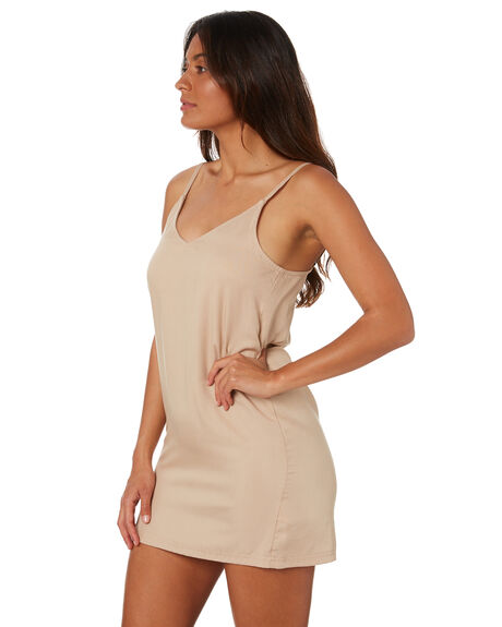 DARK SABLE WOMENS CLOTHING RUSTY DRESSES - DRL1053DKE