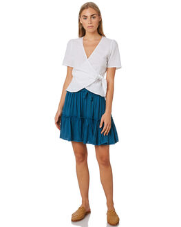 OCEAN GREEN WOMENS CLOTHING ALL ABOUT EVE SKIRTS - 6443085OCNGR