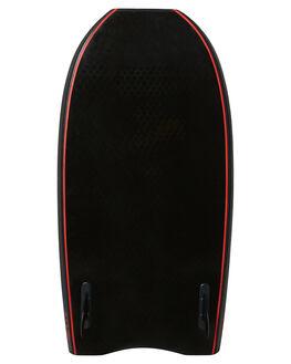 BLACK RED BOARDSPORTS SURF DRAG FUNBOARD - DBCSPEEDBLKRD
