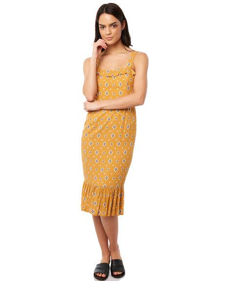 MUSTARD WOMENS CLOTHING TIGERLILY DRESSES - T381421MUS