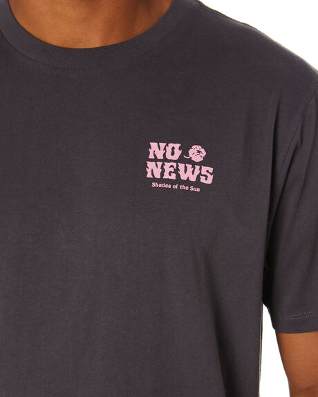 PIGMENT BLACK MENS CLOTHING NO NEWS TEES - N5212001BLACK