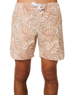 GOLDEN APRICOT MENS CLOTHING RHYTHM BOARDSHORTS - JAN19M-JM08-APR