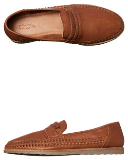 TAN MENS FOOTWEAR URGE FASHION SHOES - URG15005TAN