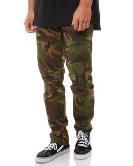 CAMO MENS CLOTHING RVCA PANTS - R383273CAM
