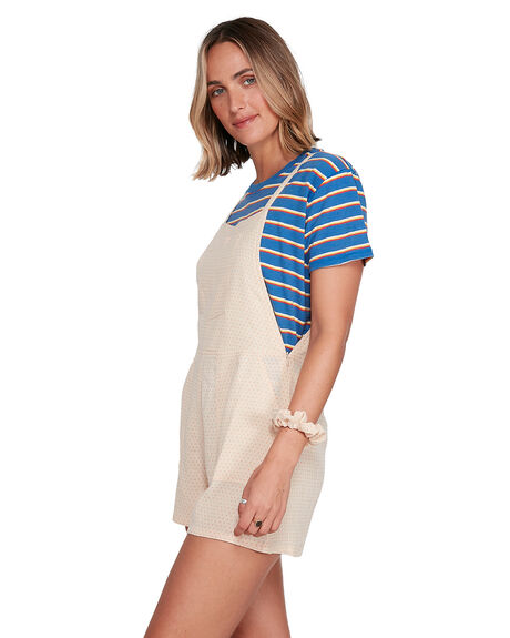 SAND WOMENS CLOTHING RVCA PLAYSUITS + OVERALLS - RV-R206761-S51