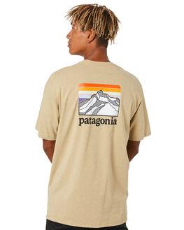 CLASSIC TAN MENS CLOTHING PATAGONIA TEES - 38511CSC