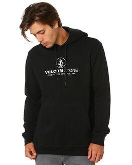 BLACK MENS CLOTHING VOLCOM JUMPERS - A4101900BLK