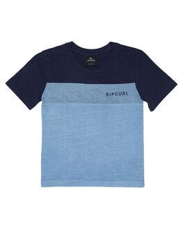 DENIM BLUE KIDS BOYS RIP CURL TOPS - OTEPW24983