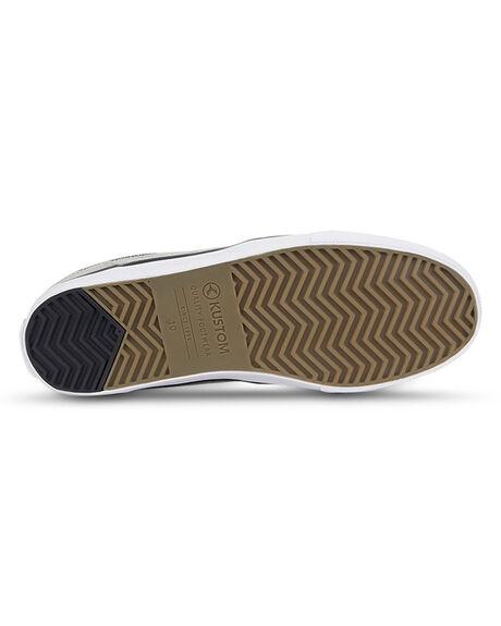 WHITE DENIM MENS FOOTWEAR KUSTOM SNEAKERS - KS-4993106-WDY