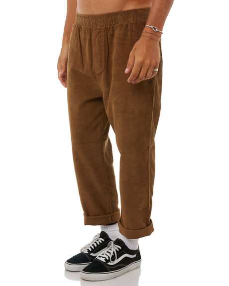 MOCHA MENS CLOTHING STUSSY PANTS - ST085601MOC