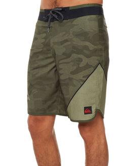 RIFFLE GREEN MENS CLOTHING QUIKSILVER BOARDSHORTS - EQYBS03764GSQ6