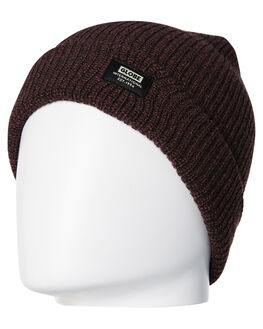 WINE MARLE MENS ACCESSORIES GLOBE HEADWEAR - GB71139016WINM