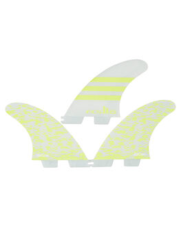 ACID WHITE BOARDSPORTS SURF FCS FINS - FJWM-PC01-MD-TS-RACI