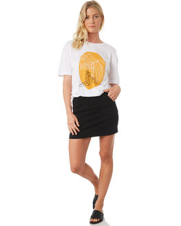 OFF WHITE WOMENS CLOTHING TWIIN TEES - IE19S1008WHI
