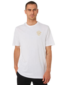 WHITE MENS CLOTHING VOLCOM TEES - A5001934WHT