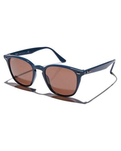 BLUE DARK BROWN MENS ACCESSORIES RAY-BAN SUNGLASSES - 0RB4258BLUDB
