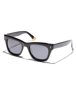 BLACK GLOSSGREY UNISEX ADULTS SABRE SUNGLASSES - SS6-501B-GBLKGR