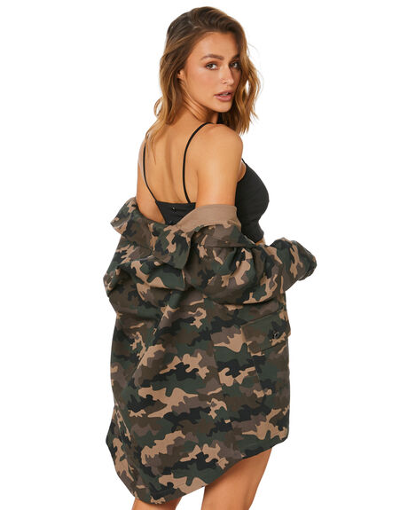 CAMO WOMENS CLOTHING JAGGER AND STONE JACKETS - JS544CAM