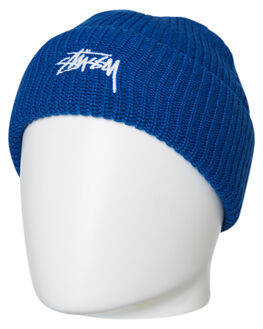 BLUE MENS ACCESSORIES STUSSY HEADWEAR - ST796004BLU