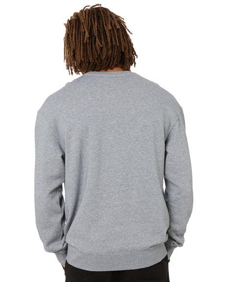 GREY MARL MENS CLOTHING NCAA HOODIES + SWEATS - NCHU0018GRM