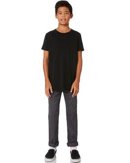 CHARCOAL KIDS BOYS DICKIES PANTS - QP801CHAR