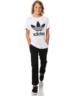 BLACK KIDS BOYS VOLCOM PANTS - C1111601BLK