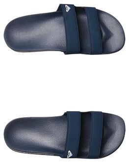 NAVY WOMENS FOOTWEAR ROXY SLIDES - ARJL100736NVY