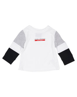 WHITE KIDS BOYS ANIMAL CRACKERS TOPS - 3450047WHT