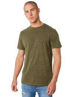 DARK OLIVE MENS CLOTHING RIP CURL TEES - CTESZ29389