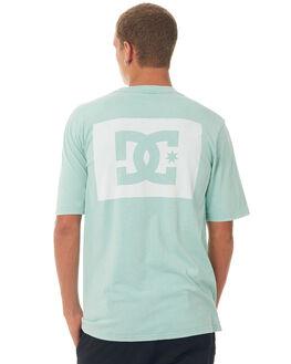 MARINE BLUE MENS CLOTHING DC SHOES TEES - UDYZT03469BHA0