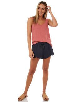 DESERT DUST WOMENS CLOTHING RUSTY SINGLETS - TSL0517DDT