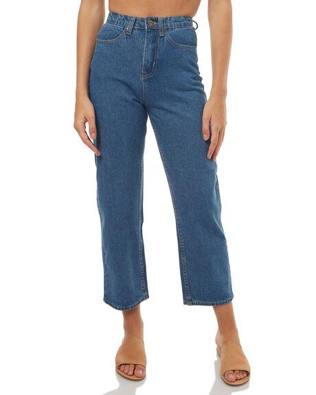 VINTAGE BLUE WOMENS CLOTHING AFENDS JEANS - 53-03-001VIN