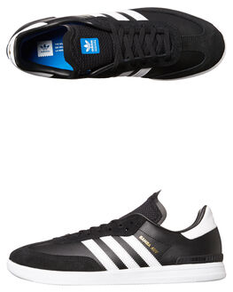 BLACK WHITE MENS FOOTWEAR ADIDAS ORIGINALS SKATE SHOES - BY3928BLK