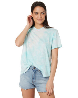 BLUE WAVE WOMENS CLOTHING BILLABONG TEES - 65821423BW