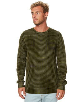 ARMY MENS CLOTHING RUSTY KNITS + CARDIGANS - CKM0304ARM