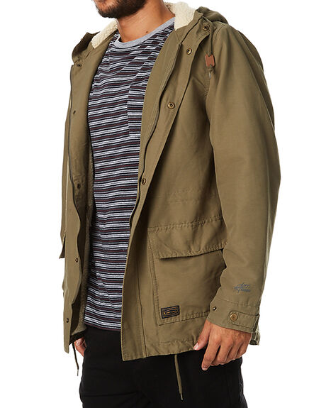 OLIVE MENS CLOTHING RIP CURL JACKETS - CJKCJ10058